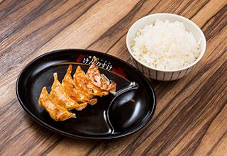 餃子(5個)ライス セット